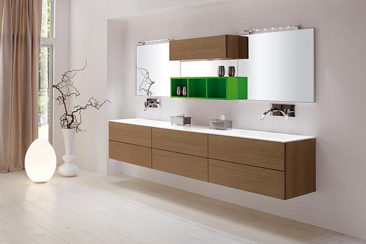 Bagni classici e moderni con finiture di pregio geo arreda - Bagno di colore prodotti ...